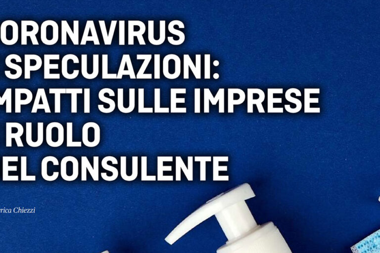 Coronavirus speculazioni
